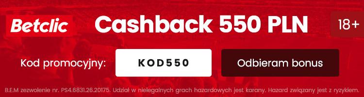 cashback za darmo w betclic polska